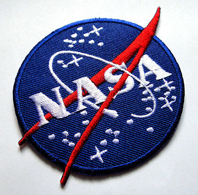 #22 Nasa Space Program Discovery Embroidered Iron on Patch Free Shipping