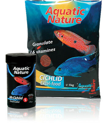 Aquatic Nature African Cichlid Excel Color S 130g -NEU-