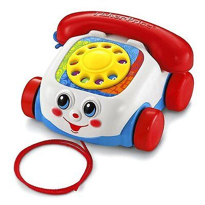Jouet 1er Age à tirer/Trainer - Téléphone Roulant - Fisher Price - NEUF