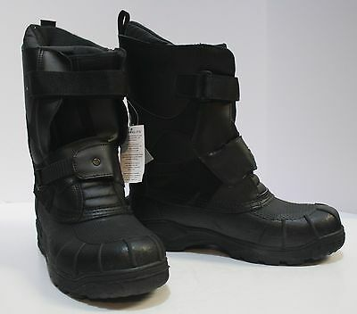 Open Box HJC Mens Snow Boots Black Size 10 Free Shipping