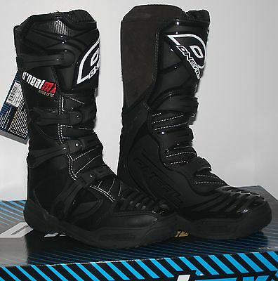 Open Box 2014 O'Neal Element Men's MX Off-Road Boots Black Size 15