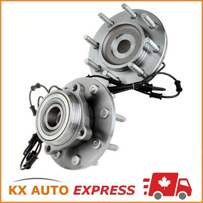 2x FRONT WHEEL HUB BEARING ASSEMBLY FOR DODGE RAM 3500 4WD 2006 2007 2008 8 STUD