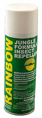 Rainbow - Jungle - Formula - Insect - Mosquito - Zika - Repellent - 6 Oz - Spray