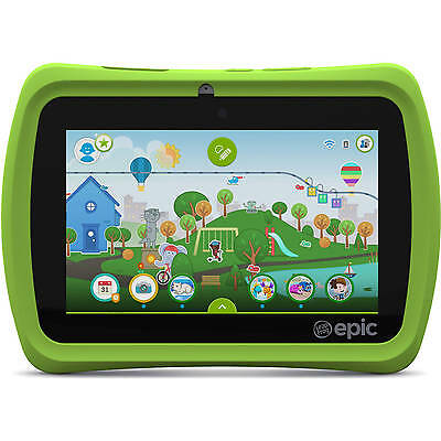 "LeapFrog Epic 7"" Android-based Kids Tablet 16GB in Orig Box Save $ Big Education"