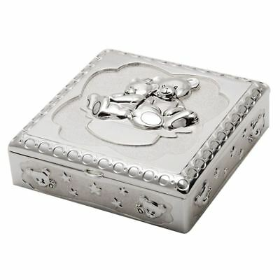 Whitehill - Silver Plated EP Bear Box 13x13 cm
