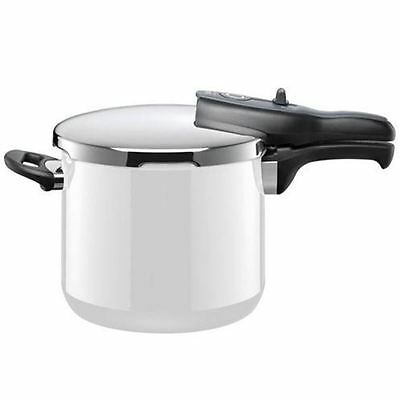 Silit - Energy White Sicomatic t-plus Pressure Cooker 6.5Ltr (Made in Germany)