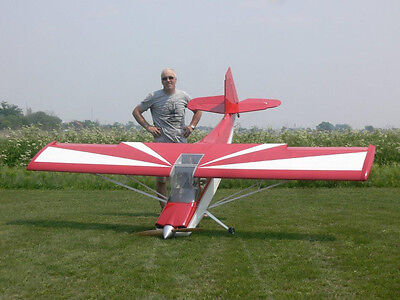 1/3 Scale Bud Nosen Citabria  Giant Scale RC Model AIrplane Printed Plans