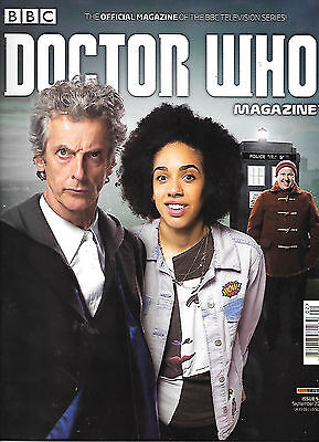 DOCTOR WHO MAGAZINE 502 (Sept 2012) bagged with 4 art cards & 2 huge posters