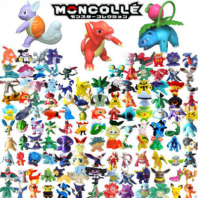 144 Mixed Pokemon Pikachu Monster Mini Random Pearl 2-3cm Action Figures toys UK