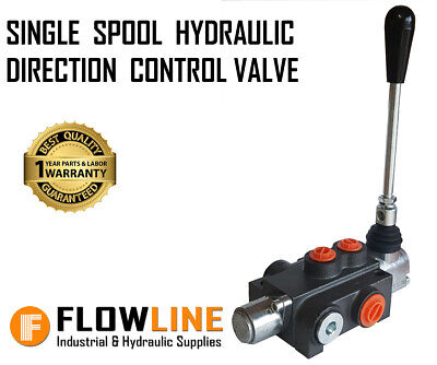 Single Spool Hydraulic Direction Control Valve - 80Ltr/min