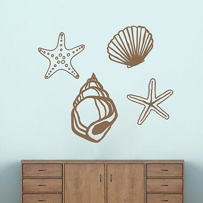 Seashells Wall Decals Wall Stickers