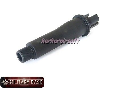 """Airsoft Outer Barrel 4"""" CQB Stubby Killer Type 14mm CCW for AEG"""