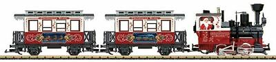 Lgb G Scale Christmas Train Starter Set 120V | Bn | 72304
