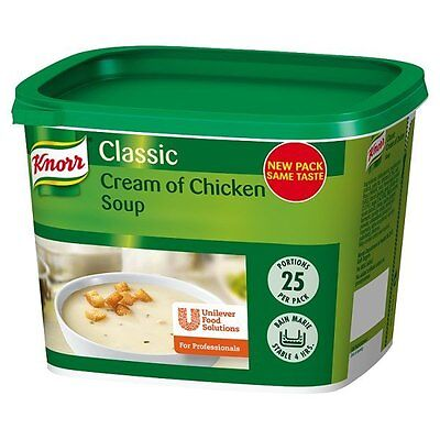 Knorr Classic Cream Of Chicken Soup 25 Portions