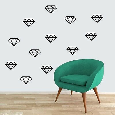 Diamonds Wall Decals Wall Stickers