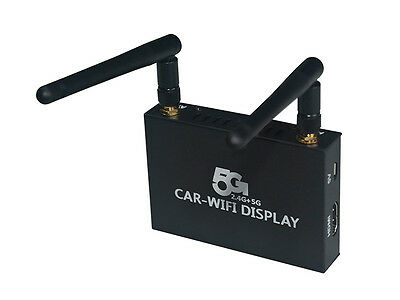 IOS ANDROID Wifi Mirror Link Box for Car Audio Home TV Monitor with AV HDMI Port