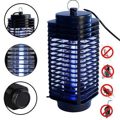Electronics Mosquito Killer Light Insect Bug Black Zapper Good Fine Moth