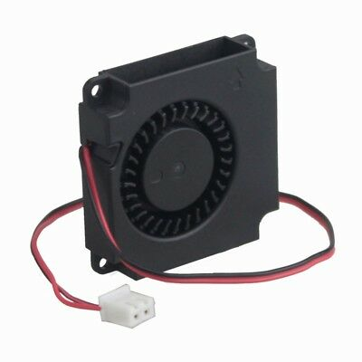 5pcs 3D Printer 12V 2 Pin DC 40mm 4010 Blower Radial Cooling Fan Ball Bearing