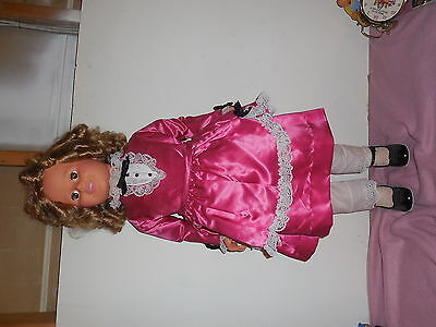 1984 Mrs. Shirley Temple Black Doll By Dolls Dreams And Love 36 Inches Tall