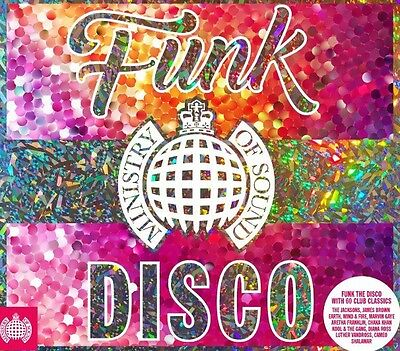 Ministry Of Sound - Funk The Disco BRAND NEW 3CD BOXSET