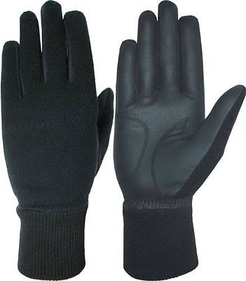 Gents Fleece Backed Winter Golf Gloves Pair Small Medium Large XL 5 sizes 4 Men