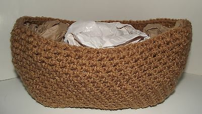 Newborn Nest Pod Peanut Basket Warm Brown Baby Infant Photo Prop Props USA Made
