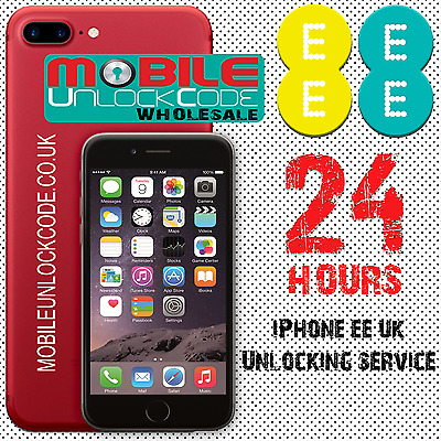 UK iPhone 5 5S 5C 6 6+ 6s SE iPad Permanent Factory Unlocking Service For EE