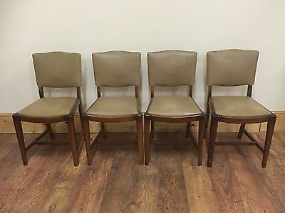 Art Deco Dining Chairs X 4