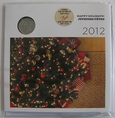 2012 UNC Holiday Set with special quarter - Christmas Tree Ornaments Canada