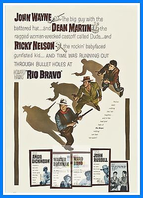 Rio Bravo  The High Country   Westerns & Cowboy Movie Posters