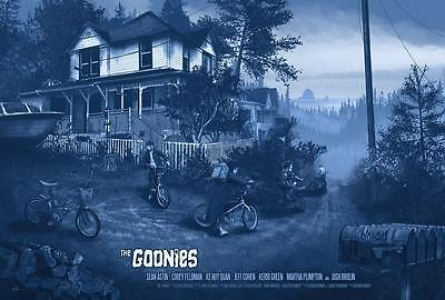 "Kevin Wilson Goonies ""The Goondocks""  24x36 Numbered #/250 Mondo Metallic Paper"