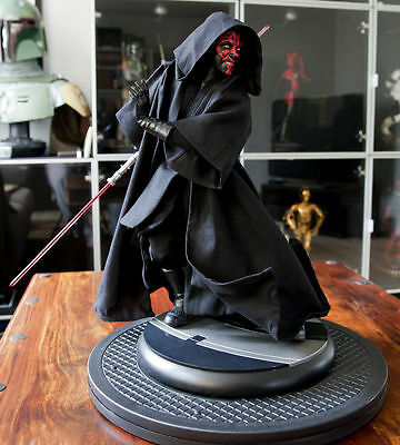 Star Wars Custom Jedi Robe ONLY ! for Sideshow Darth Maul Premium Format Statue