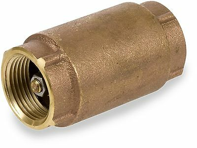 "Smith-Cooper International CV30 Series Brass Check Valve 1/2"" NPT Female 1/2"""