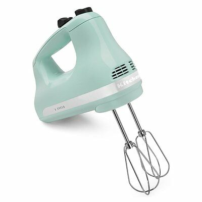 KitchenAid 5-Speed Ultra Power Hand Mixer, Ice Blue
