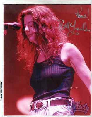 "SARAH MCLACHLAN Signed Framed 8"" x 10"" Glossy Photo w/Guarantee of Authenticity"