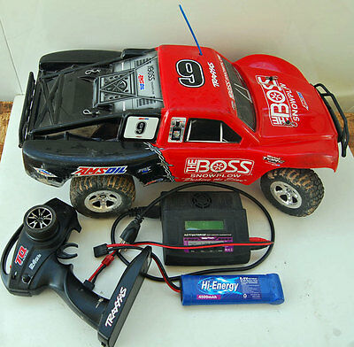 Traxxas  The Boss Red Body Radeo Controlled RC Car