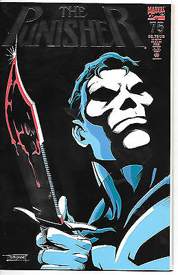 The Punisher #75 (1993; vf+ 8.5) metallic card cover - 52 pages - fault free