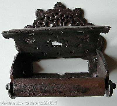Toilet roll holder - Antique - Country style antique Look Made of Cast iron