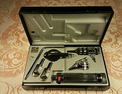Riester Nasal Speculum Expandable Set,#2030 Battery Handle Vacuum 2.7 V,Germany