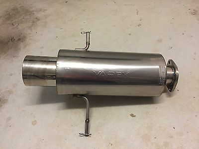 """3"""" Varex Stainless Steel Muffler with Remote Control"""