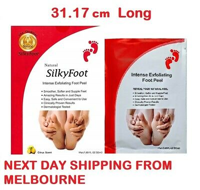 XL Big Size Silky Baby Foot Exfoliation Peel Mask Milky Feet Remove Dead Skin