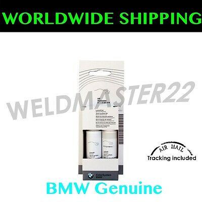 BMW New Touch Up Paint alpin-weiss 3 White (300) Genuine 51910301918