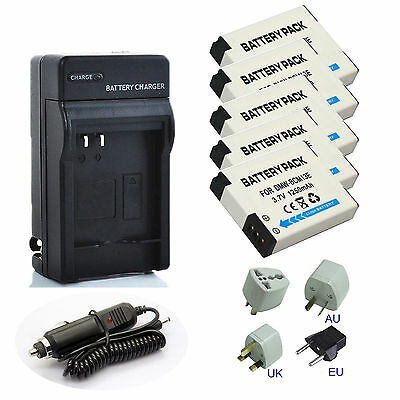 DMW-BCM13E 13PP Battery Charger For Panasonic DMC-ZS30GK TZ40 TZ41 TS5 FT5S TZ51