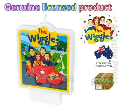 The Wiggles Candle Party Birthday Cake Decoration Topper Supply Emma Lachy
