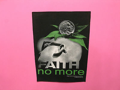 Faith No More Official 1993 Vintage Back Patch Uk Import