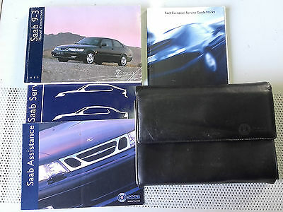 Saab 9-3 Ys3D Handbook Owners Manual 1999 Manuel D'instructions In French