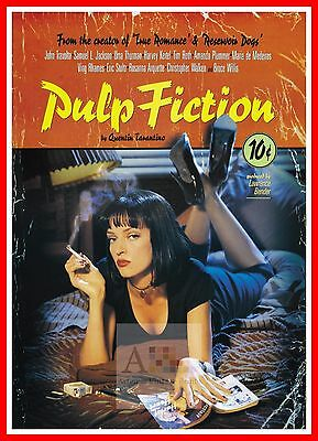 Pulp Fiction  Film Noir Movie Posters Classic Cinema