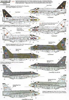 Xtradecal 1/48 EE Lightning F.3A/F.6 # 48099