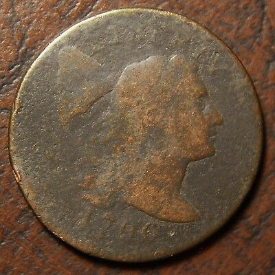 1796 Capped Liberty Large Cent, S-91
