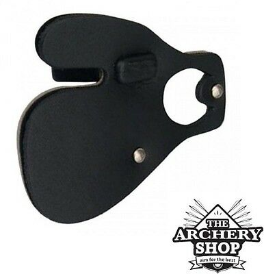 New Archery GOMPY Leather Finger Tab with Finger Spacer - LEATHER TB-2